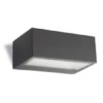Nemesis Grey Wall Light 05-9177-Z5-B8
