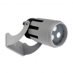 Powell 3000K LED Exterior Spot 05-9858-34-CL