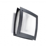Darwin Grey Square Outdoor Wall Light 05-9444-Z5-CD