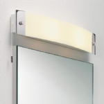 0242 Bow Bathroom Wall Light Polished Chrome