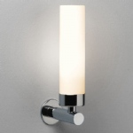 0274 Tube Bathroom Polished Chrome Wall Light