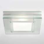 0291 Strata Square Flush Ceiling Light
