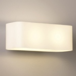 Obround Opal Glass Wall Light 1072001 (0408)