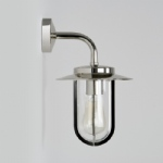 Montparnasse Nickel Wall Light 0484