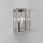 Homefield IP44 Nickel Outdoor Wall Light 1095003 (0563)