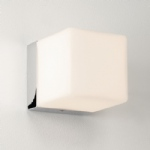 0635 Cube Bathroom Opal Cube Shaped Light