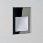 Borgo 90 Chrome Recessed LED Wall Light 1212005 (0974)