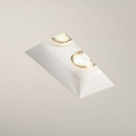 Blanco Twin Recessed Downlight 5654