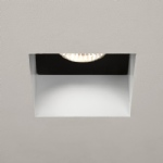 Trimless White Recessed Square spotlight 5670