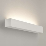 Parma 625 White Plaster Wall Light 7040