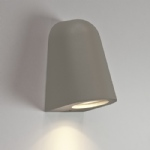 Mast Outdoor Wall Light Silver 7144