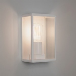 Homefield IP44 Outdoor White Wall Light 1095012 (7587)