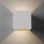 7607 Pienza Plaster LED Double Wall Light