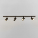Ascoli Bronze Effect Four bar spotlight 1286008 (7844)