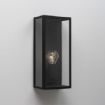 Messina Black IP44 Outdoor Wall Light 0866