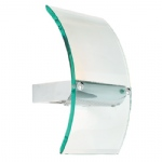 122-WB Halogen Glass Wall Light