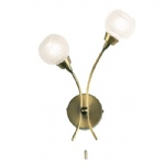 Antique Brass Wall Light 1220-2AN
