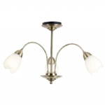 Semi Flush Ceiling Light 124-3