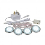 Zest White Under Shelf LED Kit 13843