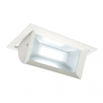Mendip LED White Recessed Downlight 46394