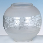 4742ET Acid Etched Glass Shade