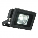 Olea Black Outdoor LED Flood Wall Light 48741
