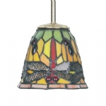 6-301 Tiffany Glass Shade