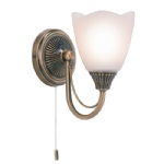 Haughton Single Traditional Wall Light 601-1AN