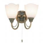 601-2AN Traditional Double Wall Light