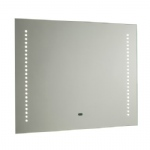 60895 Rift LED Bathroom Mirror With Sensor And De-mist Pad
