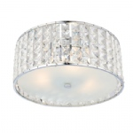 61252 Belfont IP44 Crystal Bathroom Ceiling Light