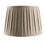 "61349 Cleo 12"" Box Pleated Drum Shade"