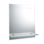 61596 Taro LED Battery Operated Bathroom Mirror