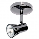Single Black Chrome Wall spotlight 811-BC
