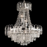 96826-CH Amadis Crystal Glass Ceiling Light