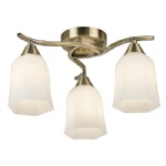 Alonso 3 Light Semi Flush Fitting