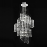 Camille 24CH Chrome Chandelier