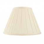Cream Box Pleated Lamp Shade CARLA-18