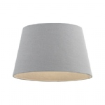 "Cici 12"" Grey Drum Shaped Lampshade CICI-12GRY"