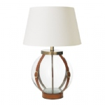 Glass Table Lamp Set EH-FORBES-TL+CICI-18IV