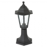 Bayswater Outdoor Post Light Black EL-40046
