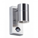 Canon Stainless Steel Outdoor PIR Single Wall Light EL-40063