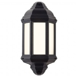 Halbury Outdoor Wall Light Black EL-40114