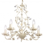 Lullaby-5CR Cream Gold Ceiling Light