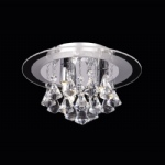 Renner 3CH Crystal Ceiling Light