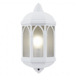 Brighton White Outdoor Wall Light YG-065-WH