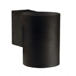 Tin Maxi Black Outdoor Wall Light 21509903