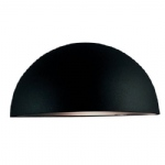 Scorpius Black Finish Outdoor Wall Light 21651003