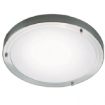 Ancona Maxi Brushed Chrome Bathroom Flush Light 2523 61 32
