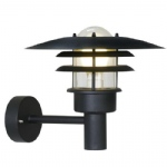 Lonstrup 32 Black Finish Outdoor Wall Light 71411003